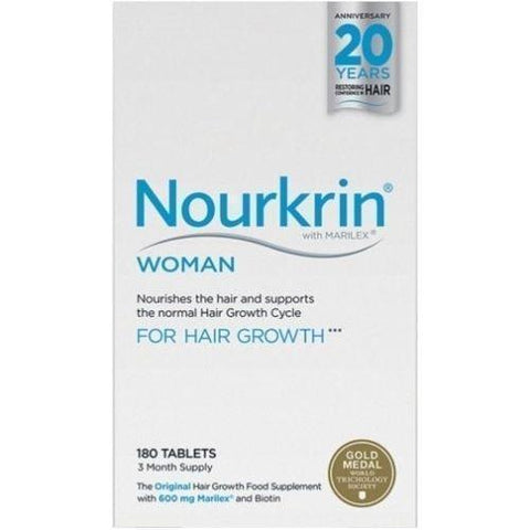 Nourkrin Nourkrin Hair Growth Tablets for Woman x 180