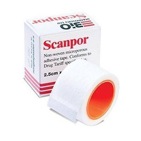 Bard Medical Scanpor Microporous Adhesive Tape 2.5cm x 5m