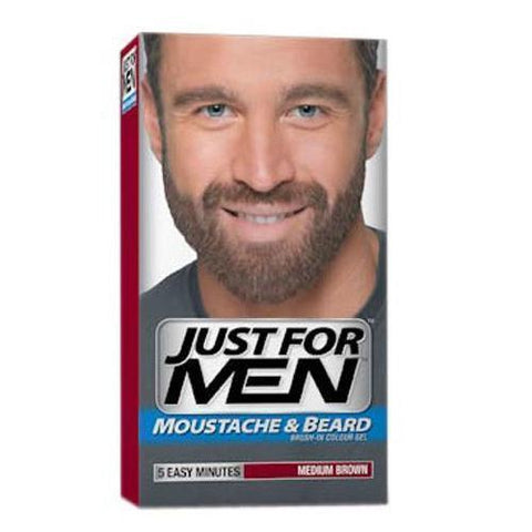 Just For Men Just For Men Moustache & Beard Medium Brown Color