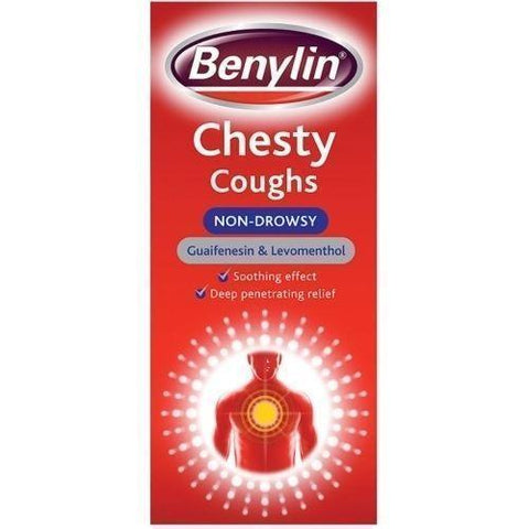 Benylin Chesty Coughs Non-Drowsy 300ml Chesty Cough Benylin- EasyMeds Healthcare LTD