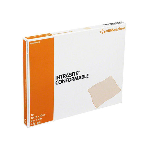 Smith & Nephew Intrasite Conformable Wounds Deep Cavity Packing Dressings 10cm x 10cm