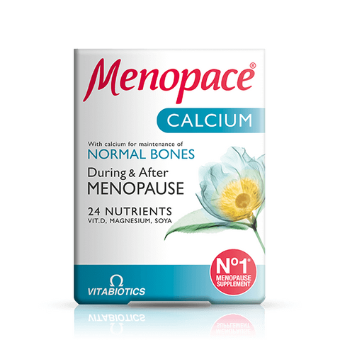 Menopace Calcium Tablets 60 x 2 Packs