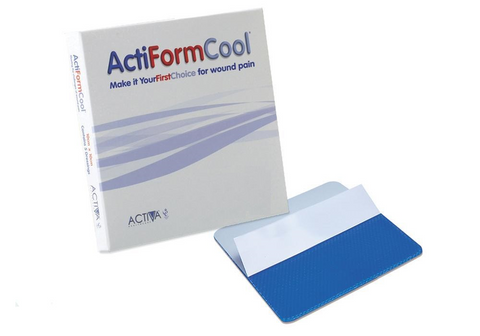 ActiForm Cool Hydrogel Dressing(s) 10cm x 10cm Burns Scalds Wounds Wound Dressings - Actiform Cool