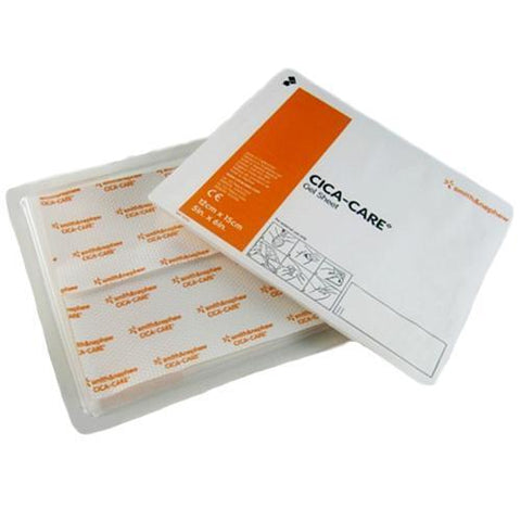 Cica-Care Silicone Gel Sheets/Adhesive Gel Scar Treatment 15cm x 12cm x10 Wound Dressings Smith & Nephew- EasyMeds Healthcare LTD