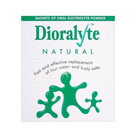 Dioralyte Natural Powder Sachets x 6