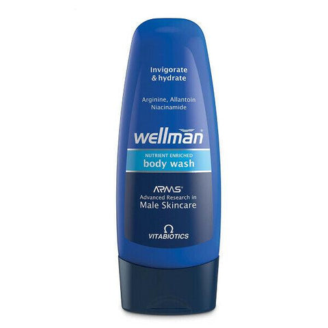 Wellman Body Wash 250ml by Vitabiotics