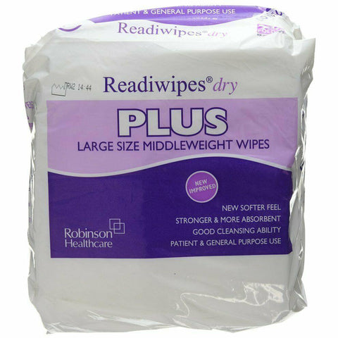 Readiwipes Dry-plus-large 29cm x 31cm x 100