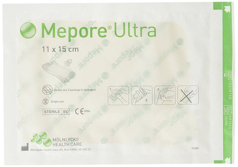 Molnlycke Mepore Ultra 9cm x 25cm Wound Dressings Waterproof Showerproof