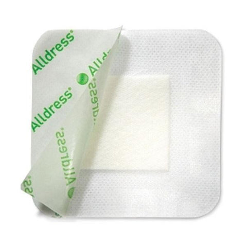 Alldress Absorbent Adhesive Dressing x 10  Ulcers Burns Lacerations Surgery  Molnlycke- EasyMeds Healthcare LTD