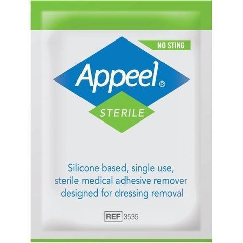 Appeel Sterile Medical Adhesive Remover Wipes x 10  CliniMed- EasyMeds Healthcare LTD
