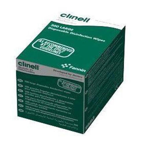 Clinell Clinell 2% Disinfection Alcoholic Wipes/Swabs x 200