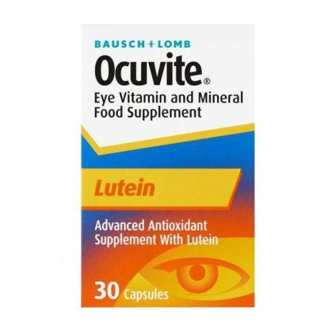 Bausch and Lomb Ocuvite Lutein Eye Vitamin Mineral Supplement