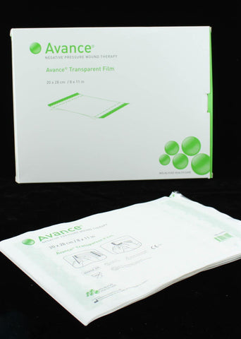 Avance Transparent Film Dressings 20cm x 28cm x 5 (Negative Pressure Therapy) Wound Dressings Molnlycke- EasyMeds Healthcare LTD