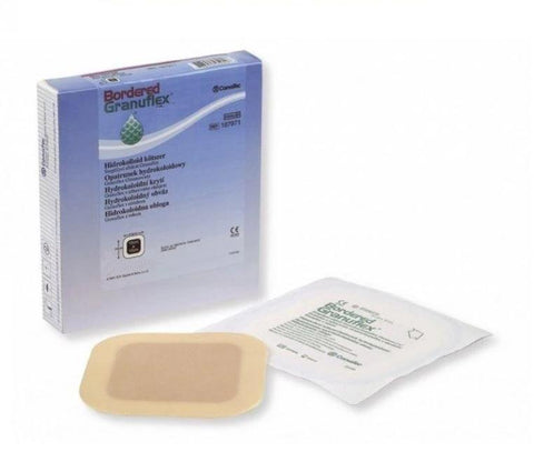 Convatec Granuflex Bordered Sterile Dressing(s) 15cm x 15cm Ulcers/Burns/Wounds/Abrasions