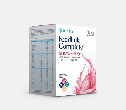Fresenius Nualtra Foodlink Complete Powder Strawberry ( 7 x 57g)