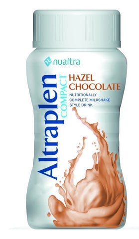 Altraplen Compact Hazel Chocolate ( 4 x 125ml) Nutritional Drinks Nualtra- EasyMeds Healthcare LTD