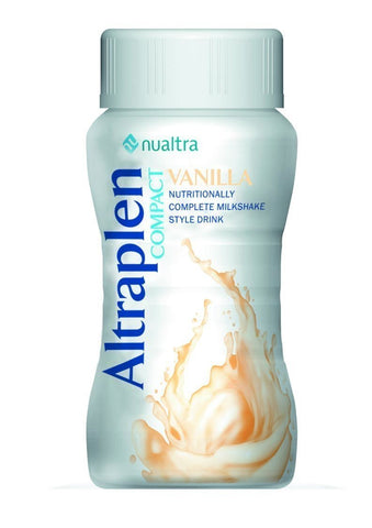 Altraplen Vanilla (4x125ml) Nutritional Drinks Nualtra- EasyMeds Healthcare LTD