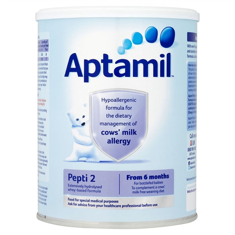 Aptamil Pepti 2 (800g) 6mnths+ for CMA Baby Milk, Formula Aptamil- EasyMeds Healthcare LTD