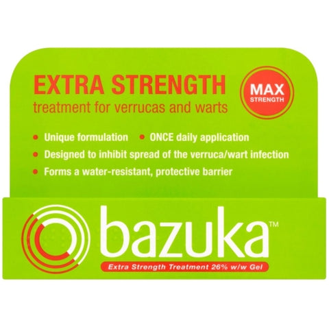 Bazuka Extra Strength Treatment Gel - 6g Strength Treatment Gel Dendron- EasyMeds Healthcare LTD
