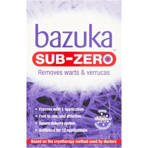 Bazuka Sub Zero Freeze Treatment Freeze Treatment Dendron- EasyMeds Healthcare LTD
