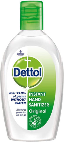 Dettol Original Anti-Bacterial Hand Sanitiser Gel 50ml, Pack of 12