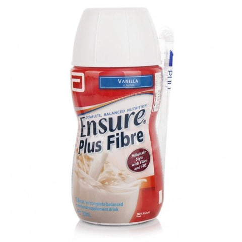 Ensure Plus Fibre Vanilla (200ml) Nutritional Drinks - Ensure Plus Fibre