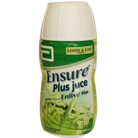 Abbott Ensure Plus Juce Lemon & Lime (220ml)