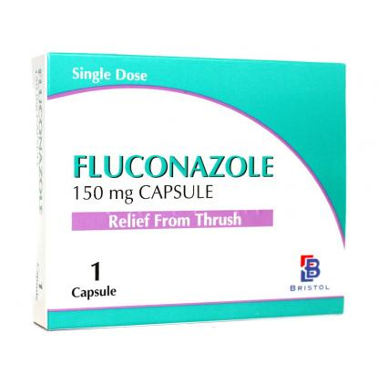 Fluconazole Thrush Relief 150mg Single Dose Capsules - Pack of 3