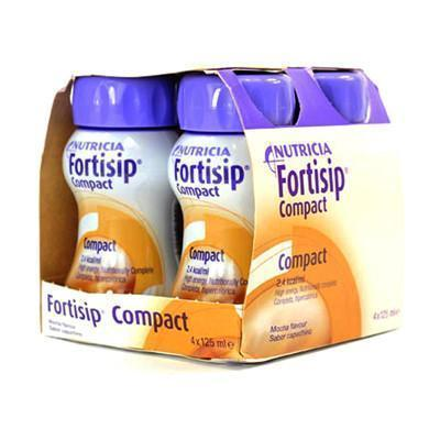 Nutricia Fortisip Compact Mocha ( 4 x 125ml)