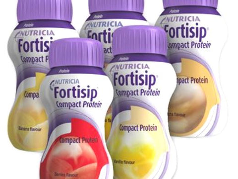Fortisip Compact Protein Assorted Pack 24 x 125ml - Bulk Buy Discount