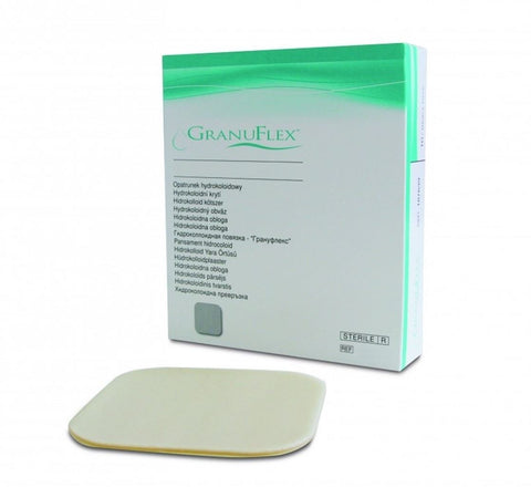 Granuflex Hydrocolloid Dressing(s) 10cm x 10cm - Ulcers/Burns/Wounds/Abrasions
