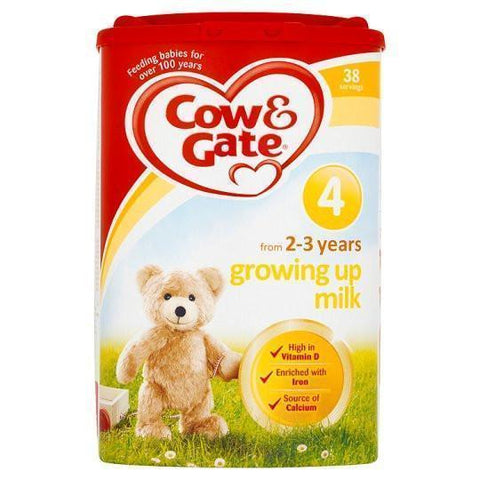 Cow & Gate Cow And Gate 4 Growing Up Milk Powder 2+ Years (800G)