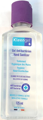 Kleengel Antibacterial Hand Sanitizer/Sanitiser Gel 125ml 70% Alc