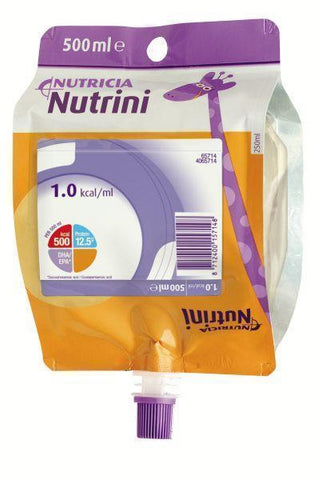 Nutricia Nutrini Energy Tube Feed Pack 500ml