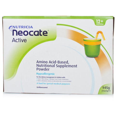 Nestle Neocate Active Unflavoured ( 15 X 63g)