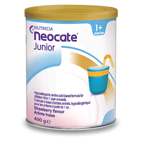 6 x Neocate Junior Strawberry Flavour 400g