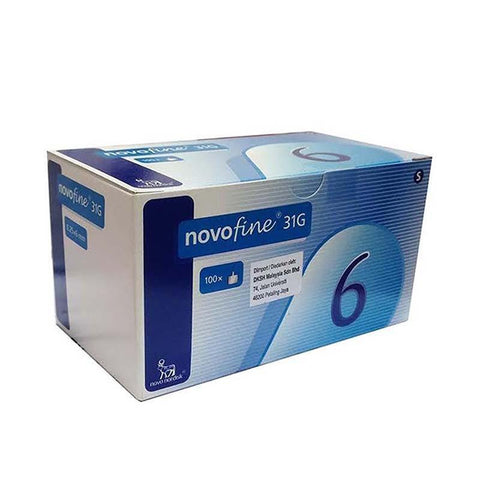 Novofine Novofine Pen Needles 6mm 31G x 100