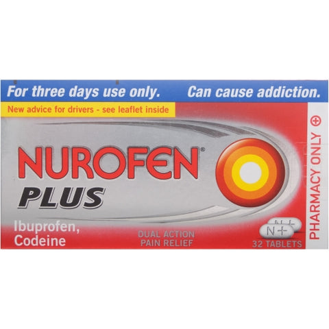 Reckitt Benckiser Nurofen Plus 32 Tablets