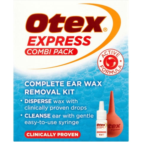 DENDRON LTD Otex Express Complete Ear Wax Removal Combi Pack - 10ml