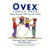 Ovex Family Pack of 4 x 100mg