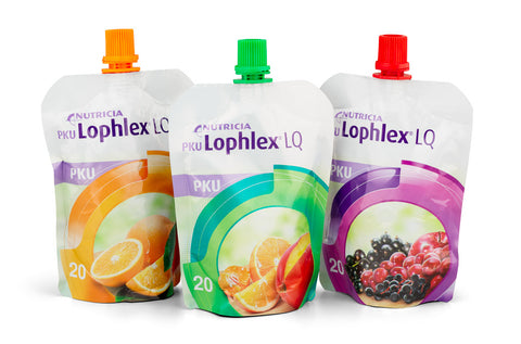 PKU Lophlex LQ 20 (125ml x 30) Orange/Topical/Berries