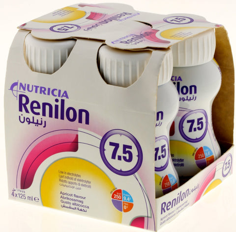 Renilon Renilon 7.5 (4x125ml) Apricot