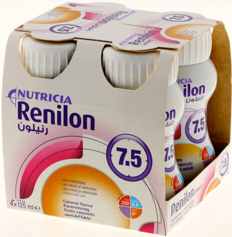 Renilon Renilon 7.5 (4x125ml) Caramel
