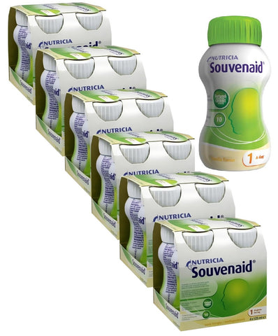 Special Offer - Nutricia Souvenaid Vanilla 125ml x 24