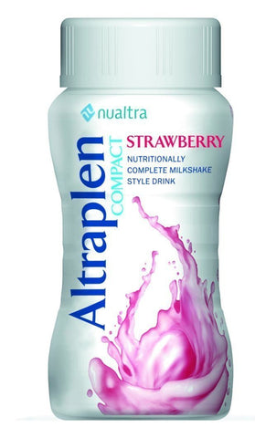 Altraplen Strawberry (4x125ml) Nutritional Drinks Nualtra- EasyMeds Healthcare LTD