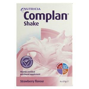 Complan Complan Shake Strawberry (4 x 57g)