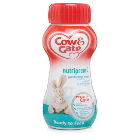 Cow & Gate Nutriprem 2 Liquid Milk (200ml) Baby Formula