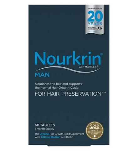 Nourkrin MAN 720 Tablets (12 Months Supply) Hair Loss - Supplements