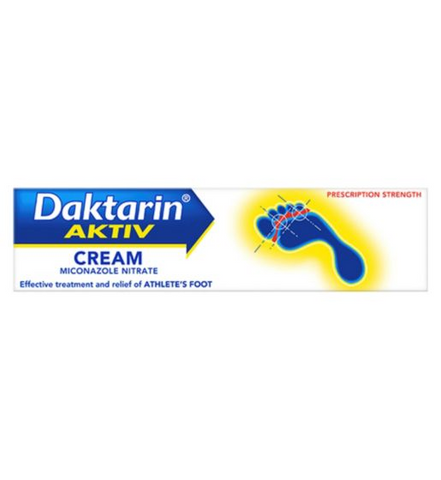 Daktarin Dakatrn Athletes Foot Cream - 30g