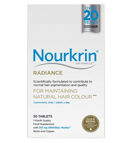 Nourkrin Radiance Tablets x 30 Hair Color Maintenance Hair Loss - Supplements